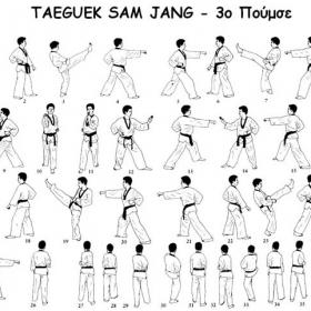 Tae kwon do - 3ο poomsae
