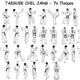 Tae kwon do - 7ο poomsae