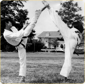 Tae kwon do - Double Kick