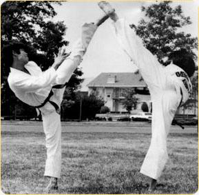 Tae kwon do - Double Kick